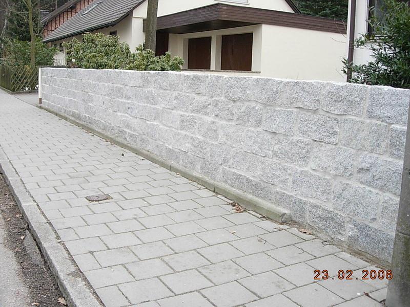 Frankengrun Grunanlagenbau Einfach Geile Garten Mauern Naturstein