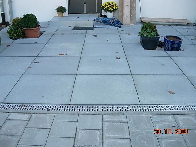 Hervorragend FRANKENGRÜN Grünanlagenbau einfach geile gärten... - betonplatten XP91